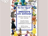 Disney Character Birthday Invitations 549 Best Birthday Invitation Card Images On Pinterest