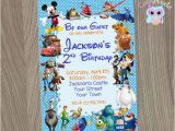 Disney Character Birthday Invitations Disney Invitation Disney Boy Invitation Disney by Cutepixels