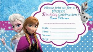 Disney Frozen Birthday Invitation Templates Frozen Free Printable Invitation Templates