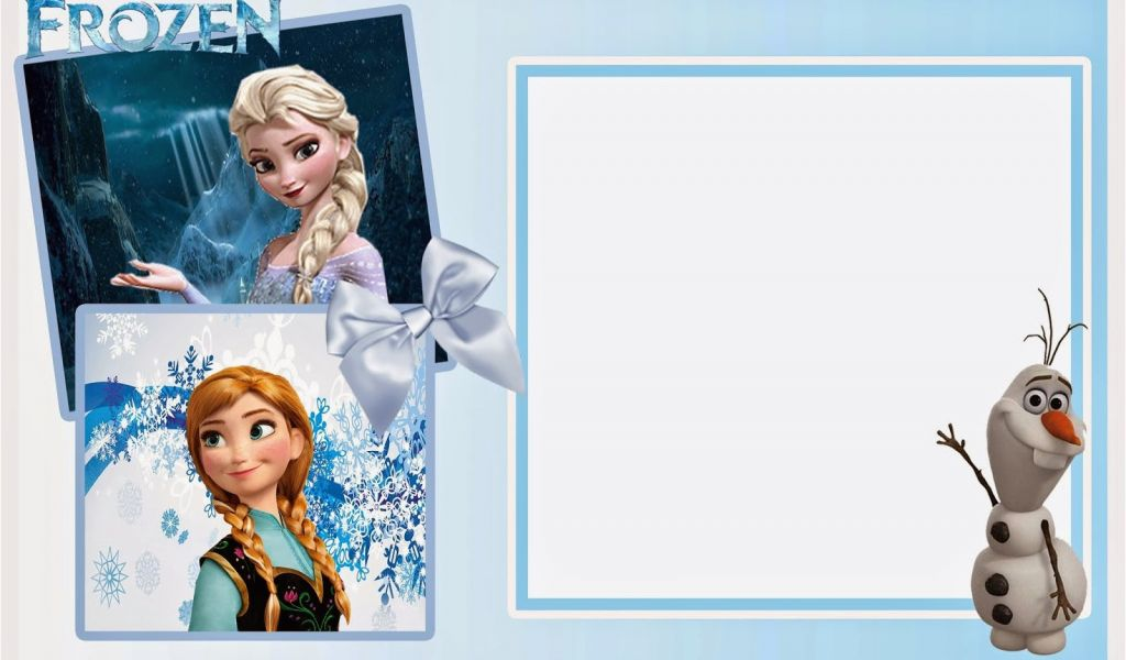 Disney Frozen Birthday Invitation Templates So Cute Free