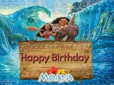 Disney Moana Birthday Card Free Moana Birthday Greeting Cards