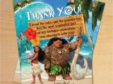 Disney Moana Birthday Card Moana Moana Birthday Disney Moana Party Moana Epic Birthday
