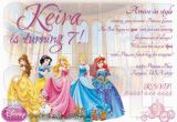 Disney Princess 1st Birthday Invitations Disney Princess 1st Birthday Invitations Best Party Ideas