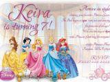 Disney Princess 1st Birthday Invitations Disney Princess 1st Birthday Invitations Best Party Ideas