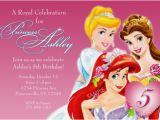 Disney Princess 1st Birthday Invitations Disney Princess Birthday Invitations Ideas Bagvania Free