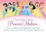 Disney Princess 1st Birthday Invitations Disney Princess Birthday Invitations Ideas Bagvania Free