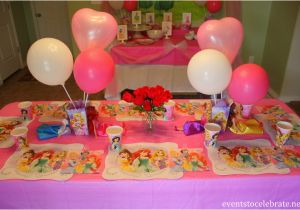 Disney Princess Birthday Party Ideas Decorations Food