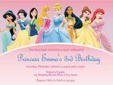 Disney Princess Birthday Party Invitations Free Printables Disney Princess Invitations Template Best Template