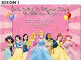 Disney Princess Birthday Party Invitations Free Printables Free Printable Birthday Invitation Disney Princess