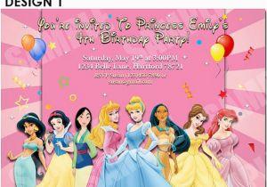Disney Princess Birthday Party Invitations Free Printables Printable Invitation
