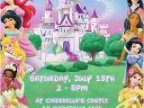 Disney Princess Birthday Party Invitations Free Printables Items Similar to Disney Princess Invitation Printable