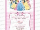 Disney Princess Birthday Party Invitations Free Printables Template for Disney Invitation orderecigsjuice Info