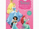 Disney Princess Happy Birthday Card 2 today Disney Princess Birthday Card 25461532