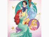 Disney Princess Happy Birthday Card Birthday Princess Disney Princess Birthday Card 25470220