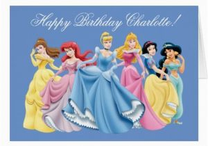 Disney Princess Happy Birthday Card Mom And Kids