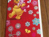 Disney themed Birthday Cards Disney 39 S Pooh Bear Piglet themed Birthday Greeting Card