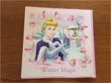 Disney themed Birthday Cards Disney Princesses Cinderella themed Blank Christmas