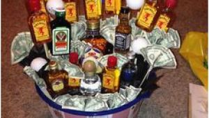 Diy 21st Birthday Gift Ideas for Him Gift Baskets Bombay Bottles Card 21st Birthday for