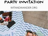 Diy Birthday Invitations Online Free Free Printable Diy Instagram Party Invitations Our