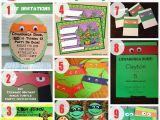 Diy Ninja Turtle Birthday Invitations 75 Diy Teenage Mutant Ninja Turtles Birthday Party Ideas