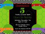 Diy Ninja Turtle Birthday Invitations Free Printable Ninja Turtle Birthday Invitations