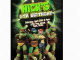 Diy Ninja Turtle Birthday Invitations Items Similar to Diy Tmnt Teenage Mutant Ninja Turtles