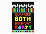 Do It Yourself Birthday Invitations 60th Birthday Party Invitations Do It Yourself Zazzle