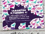 Do It Yourself Birthday Invitations Dinosaur Birthday Invitation Do It Yourself Digital Print