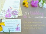 Do It Yourself Birthday Invitations Do It Yourself Baby Shower Invitations Template Resume