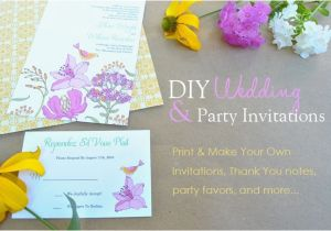 Do It Yourself Birthday Invitations Baby Shower Template Resume
