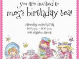 Do It Yourself Birthday Invitations Tea Birthday Party Invitations Oxsvitation Com