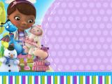 Doc Mcstuffin Birthday Invitations Doc Mcstuffins Birthday Invitation Templates Free