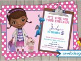 Doc Mcstuffin Birthday Invitations Doc Mcstuffins Birthday Invitations Doctor Mcstuffins