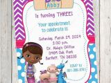 Doc Mcstuffin Birthday Invitations Mcstuffins Free Printable