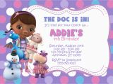 Doc Mcstuffin Birthday Invitations Mcstuffins Template Free Calendar