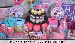 Doc Mcstuffin Birthday Party Decorations Doc Mcstuffins Party Supplies