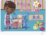 Doc Mcstuffins Birthday Card Happy Birthday Disney Doc Mcstuffins Candle Party Giant