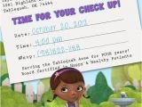 Doc Mcstuffins Birthday Card Items Similar to Doc Mcstuffins Appointment Card Birthday