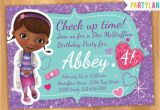 Doc Mcstuffins Birthday Invitations Online Quot Catch My Party