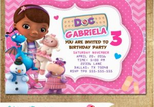 Doc Mcstuffins Birthday Invitations Online Party Printable
