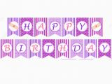 Doc Mcstuffins Happy Birthday Banner 6 Best Images Of Happy Birthday Cupcake Banner Printable