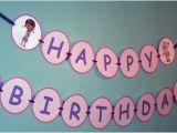 Doc Mcstuffins Happy Birthday Banner Items Similar to Large Doc Mcstuffins Happy Birthday