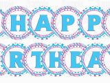 Doc Mcstuffins Happy Birthday Banner Printable Doc Mcstuffins Birthday Banner