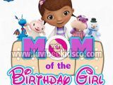 Doc Mcstuffins Mom Of the Birthday Girl Doc Mcstuffins Iron On Transfer Bandaid Mom Of the