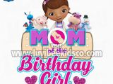 Doc Mcstuffins Mom Of the Birthday Girl Doc Mcstuffins Iron On Transfer Hearts Mom Of the