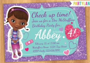 Doc Mcstuffins Personalized Birthday Invitations Quot Catch My Party