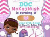 Doc Mcstuffins Printable Birthday Invitations Doc Mcstuffins Birthday Invitation by Kaitlinskardsnmore