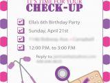 Doc Mcstuffins Printable Birthday Invitations Doc Mcstuffins Inspired Birthday Invites Template Only
