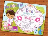 Doc Mcstuffins Printable Birthday Invitations Items Similar to Doc Mcstuffins Birthday Party Invitation