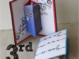 Doctor who Birthday Card Template Doodlecraft Jon Pertwee Pop Up Cards 3rd Day Of Doctor who